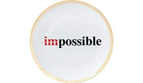 BITOSSI HOME & Funky Table LA TAVOLA SCOMPOSTA, Piatto Impossible Ø 17 CM