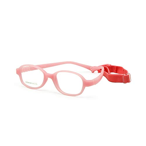 EnzoDate gafas para niños, montura de talla 41, Pas de tornillo, optica y gafas monobloque con correa y cordón para bebé, gafas, para niños, vasos sécurisées para chicos y chicas