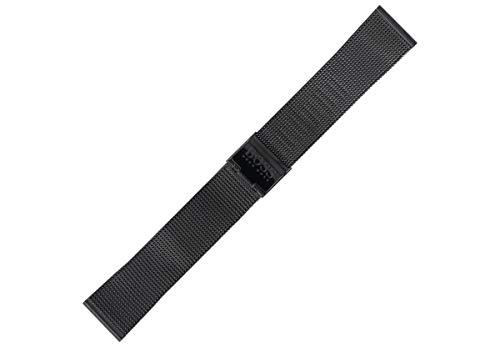 Hugo Boss Uhrenarmband 20mm Edelstahl Schwarz - 659002565