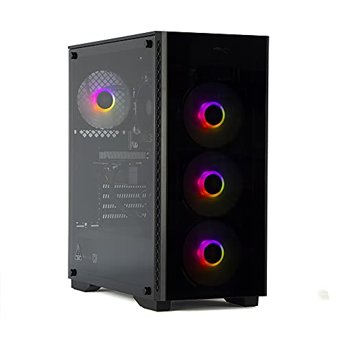 MAK CATASTROPHE PLUS - PC Gaming RYZEN 3 3100 3,90 GHz, GTX 1650 4 GB STRIX, SSD Nvme 250 GB + HDD 2 TB, RAM 16 GB (2 x 8) 3200 MHz, ordenador de gaming DESKTOP, Windows 10 PRO