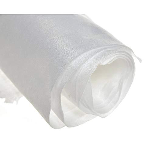 acerto 40019 Tissu au mètre - 1,63 m, 150 g/m² Tissu au mètre * Perméable à l'eau * Respectueux del'environnement * Imputrescible | Tissu de jardin, non-tissé de drainage