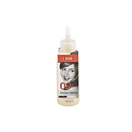 Retro Professional Itone, pigment pur 100 ml 09 Rouge Copper, Rosso Rame