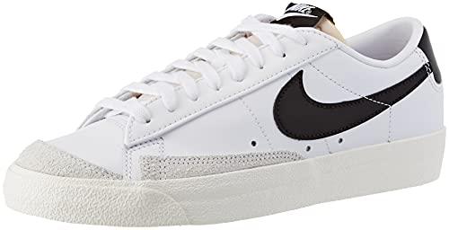 Nike Blazer Low '77, Zapatillas de bsquetbol Mujer, White Black Sail White, 37.5 EU