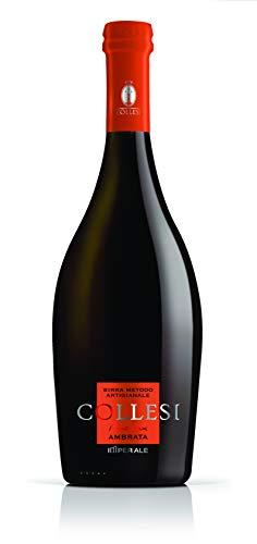 Birra Artigianale Collesi - Ambrata - 0.75 L (Confezione da 6 Bottiglie)