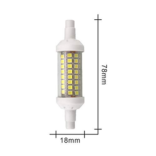 Dimbare R7S LED-lamp, 10 W, 15 W, 20 W, SMD 2835, 78 mm, 118 mm, 135 mm, R7S, LED, energiebesparend, AC 220 V, vervanging voor halogeenlampen.
