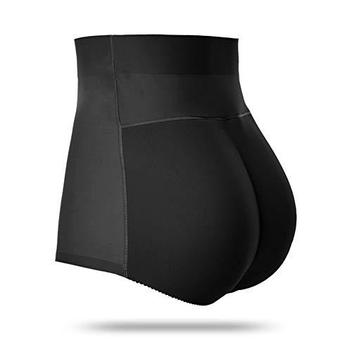 Middelgrote taille en zitvlak vrouwen onderwear modellerende controle Underwear Fdus Hip Lift naadloos - Zwart, Skin Tone XL Zwart