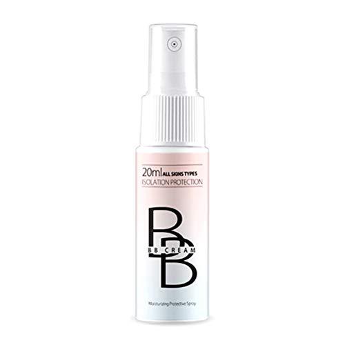 Spray BB Creme Concealer Brighten Whitening Moisturizing Base Face Foundation Gesichts Make-up, Ölkontrolle/Langlebig/Vollständige Abdeckung/BB Cream 20ml