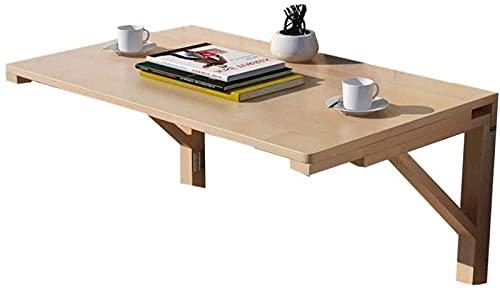 FDGSD Mesa Plegable desplegable montada en la Pared, Escritorio de la computadora del Comedor en el hogar, Banco de Trabajo fácil de Plegar (tamaño: 80 y Veces; 50 cm)
