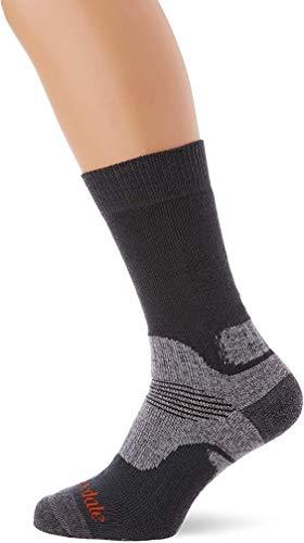 Bridgedale Herren Explorer Midweight Merino Comfort Socken, Gunmetal, L