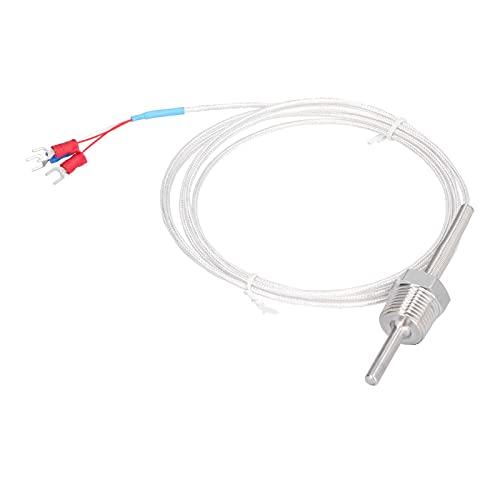Temperature Probe, Compression Spring Thermocouple Simple Operation and Convenient Use Adopts Good Terminal Blocks for Temperature Sensor