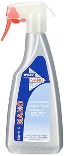 WENKO Nano Teppich-Reiniger - Flüssigreiniger zur professionellen Teppichreinigung Fassungsvermögen: 0.5 l, Chemische Zusammensetzung, 10.5 x 25.3 x 4.8 cm