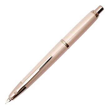 Pilot Fountain Pen Capless Decimo Pearl White Body F-Nib