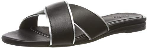 ESPRIT Damen AVA Slide Pantoletten, Schwarz (Black 001), 40 EU