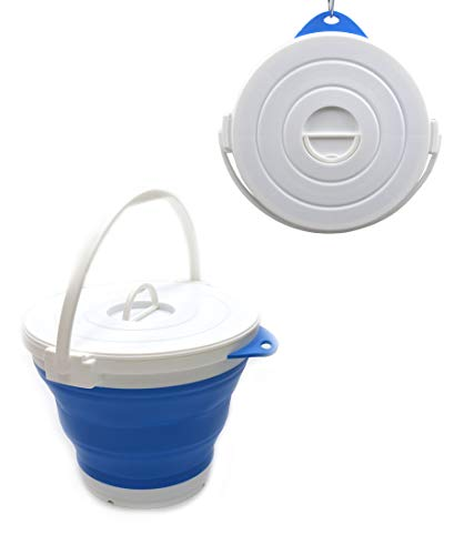 5 Gallon Multifunctional Foldable Water YLXT Collapsible Bucket with Handle