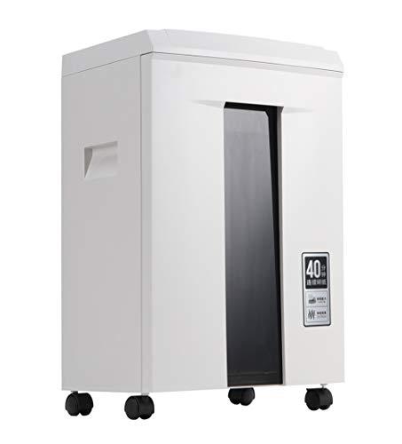 Destructora de papel,trituradora de papel corte cruzado oficina,tiempo de funcionamiento continuo de 40 minutos, destruye papel/CD/DVD/tarjeta crédito, protección térmica