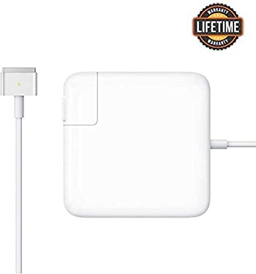 Mac Book Pro Charger, AC 85w Power Adapter Magsafe 2 T-Tip Adapter Charger Connector - Superior Heat Control - MacBook Pro 17/15/13 Inch [After Mid 2012]