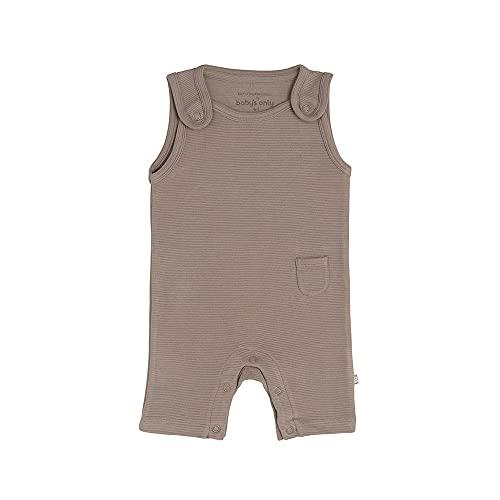 BO Baby's Only - Latzhose Pure - Mokka - 50-100% Bio-Baumwolle