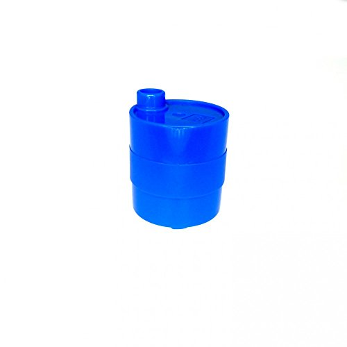 1 x Lego Duplo Fass blau 2 x 2 x 2 Öl Tonne Kanister Benzin Container Tankstelle Cars 60777