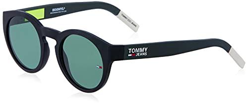Tommy Hilfiger tj 0003/s, gafas de sol Unisex Adulto, opaco neo verde, 48