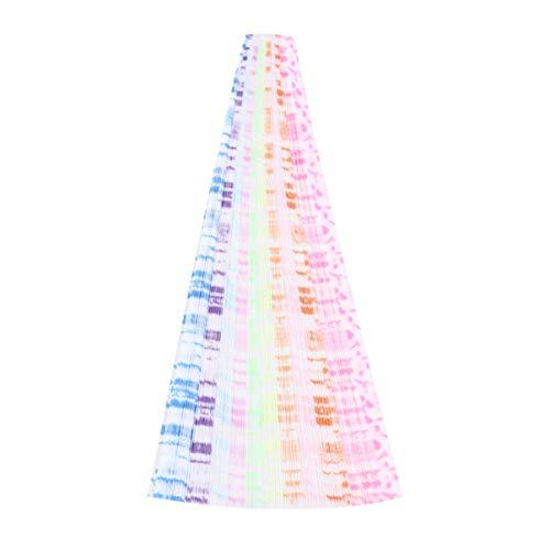 Vosarea 420pcs Star Opvouwbaar Papier Lumious Glow in The Dark Star Opvouwbaar Papier Ster Maken Papier DIY Star Paper for Arts Creativity School Handcraft