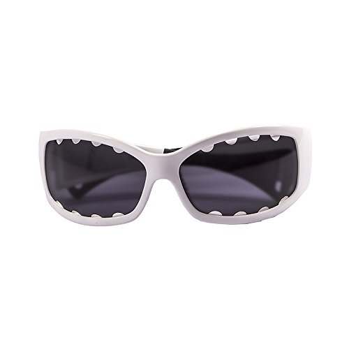 Ocean Sunglasses - Fuerteventura - lunettes de soleil polarisées - Monture : Blanc Laqué - Verres : Fumée (1112.3)