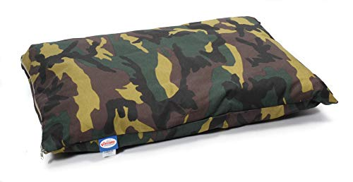 Record Army Coussin Camouflage avec Housse Amovible en Tissu Camouflage, pour Animaux domestiques, Dimensions 100 x 65 x 10 cm