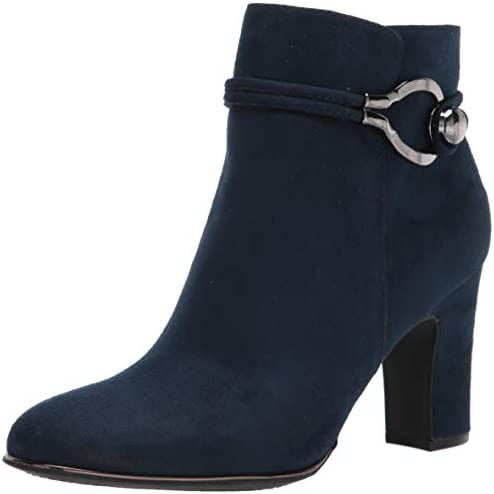 RIALTO Women s Breezy Navy Suedette Size 8 Fashion Boot 8 product image