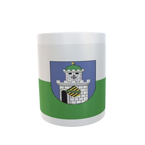 U24 Tasse Kaffeebecher Mug Cup Flagge Bad Belzig