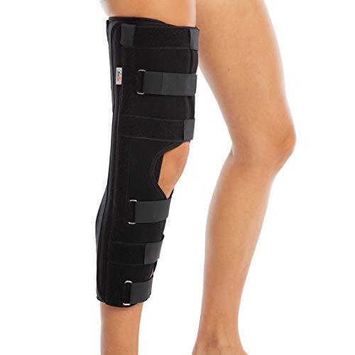 Rodillera inmovilizadora de rodilla. Férula para antes y después de la cirugía. Inmovilizador post-operatorio. Tres tamaños ✅