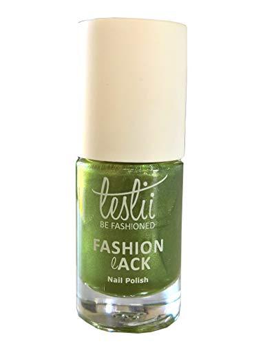 Leslii hell-grüner Qualitäts Nagellack Colour Couture Olive Grün Fashionlack Inhalt: 5ml