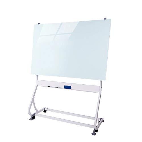 Lcxligang Tableau magnétique Tableau Blanc en Verre trempé Support d'écriture Type de Blackboard Autocollant Mural Accueil Enfants Bureau ENSEIGNEMENTS