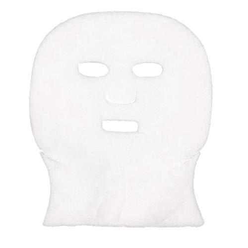 Heritan 100 Piezas/Lote de Gasa de PelíCula Suave Blanca Papel Facial Especial Desechable GestióN de la Piel Toalla de PelíCula de AlgodóN para SalóN de Belleza