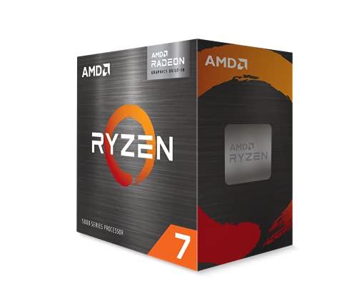 AMD Ryzen 7 5700G 8-Core, 16-Thread Unlocked Desktop Processor with Radeon Graphics