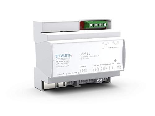trivum RP311 - Multiroom Soundsystem für die Hutschiene   Audioaktor mit KNX Support