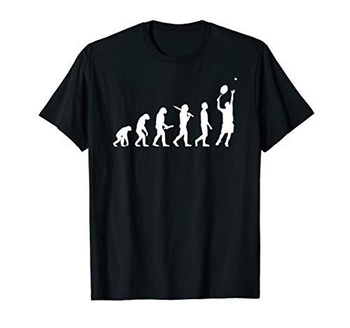 Tennis Evolution T-Shirt Geschenk für Tennisspieler