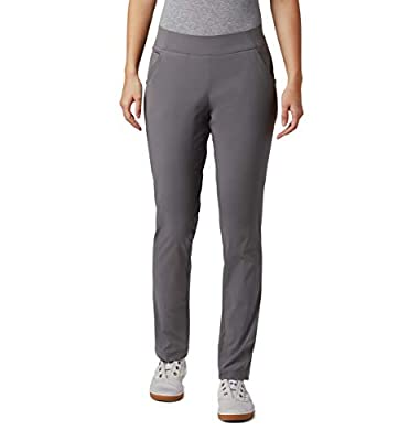 Columbia Women's Misses Stain Resistant, Sun Protection, City Grey, X-Large Regular