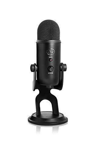 Blue Yeti USB Microphone - Blackout Edition (Renewed)