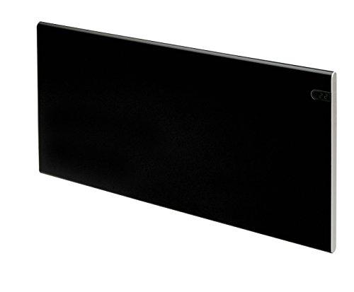 ADAX Neo NP - Radiador eléctrico Moderno, Altura 370mm, 1200W | Anticongelante |KDT Negro | IP20C