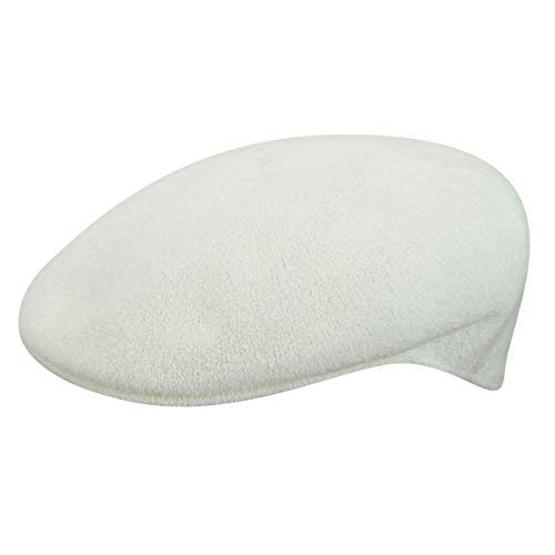Kangol Headwear Bermuda 504 Casquette Souple, Blanc (White), (Taille Fabricant: Large) Homme