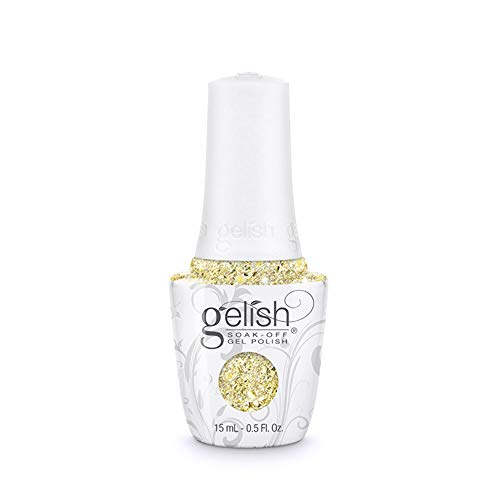 Harmony Gelish Ice Cold Gold de zenuwkitel van de chill 2017 gel nagellak, 15 ml