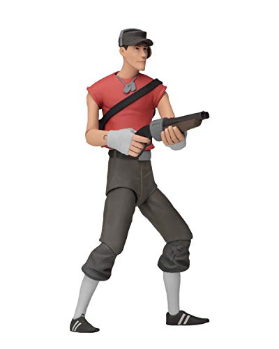 NECA - Team Fortress 2 - 7' Scale Action Figures - Series 4 RED - Scout