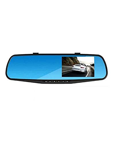 "ACD 4.3 ""Car Dvrs Video Recorder Dash CAM Full HD 1080P Mirror CAM Car Dvr Camera Loop Recording(Color:Single Lens)"