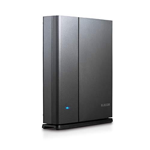 エレコム WiFi 無線LAN ルーター 11ac ac2600 1733+800Mbps IPv6対応 トレンドマイクロセキュリティ 3階建/...