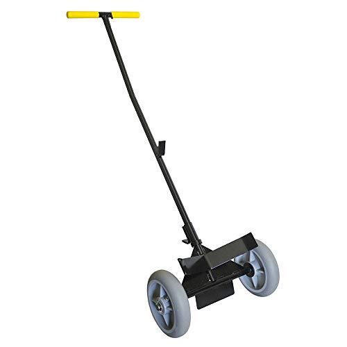 Bar Maid KPC-100 Keg and Pail Cart w/Ergonomic Handle, Black
