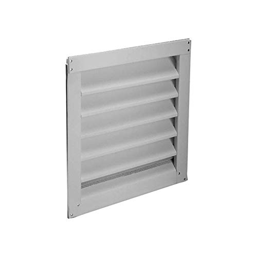 Air Vent 81202 12'x 12' Aluminum, White 12x12 WHT ALU Louver