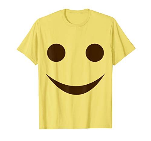 Lächeln Emoji Lustiges Karneval Shirt Faschings Kostüm T-Shirt