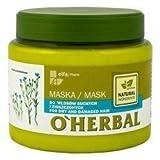 O'Herbal Mascarilla Capilar Para Cabello / Pelo Seco Y Dañado Natural Ecológica Sin Sulfatos Ni...