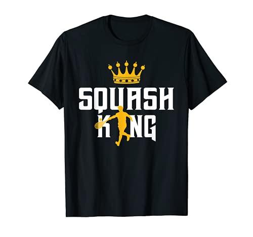 Raquette De Squash Joueur De Squash Great Squash King Gift T-Shirt