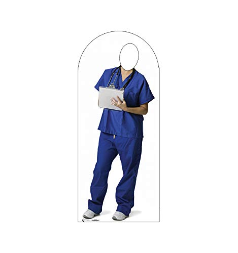Advanced Graphics Orderly Stand-in Life Size Cardboard Cutout Standup