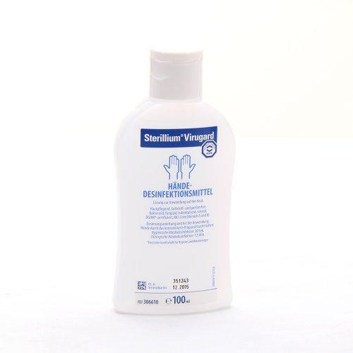 5 x 100ml Sterillium Virugard Hygiene Händedesinfektion Desinfektionsmittel